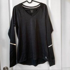 Reebok workout long sleeve shirt